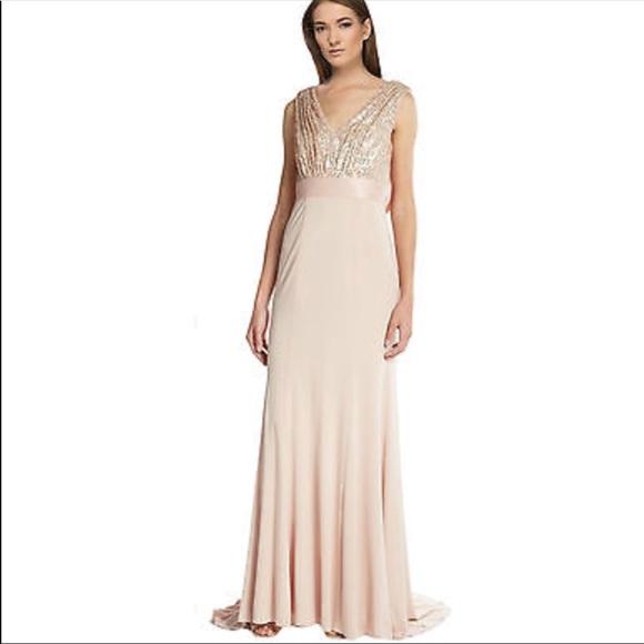 Vera Wang Dresses | New Pink Sequin Dress Sz 2 | Poshmark